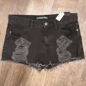 Nwt Express distressed shorts sz.10